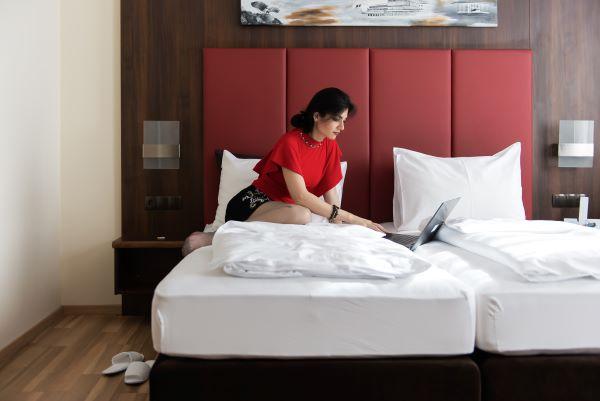Das Reinisch Hotel Bett Junior Suite Hotel