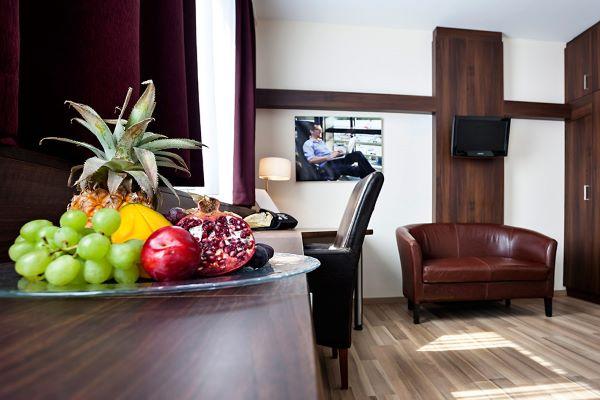 Das Reinisch Hotel Schreibtischansicht Junior Suite Hotel
