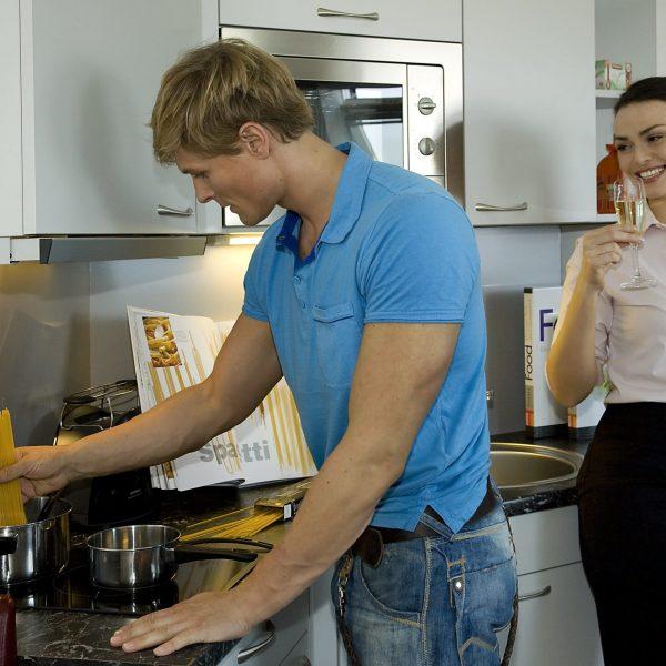 Das Reinisch Hotel Business Aparatments Küche
