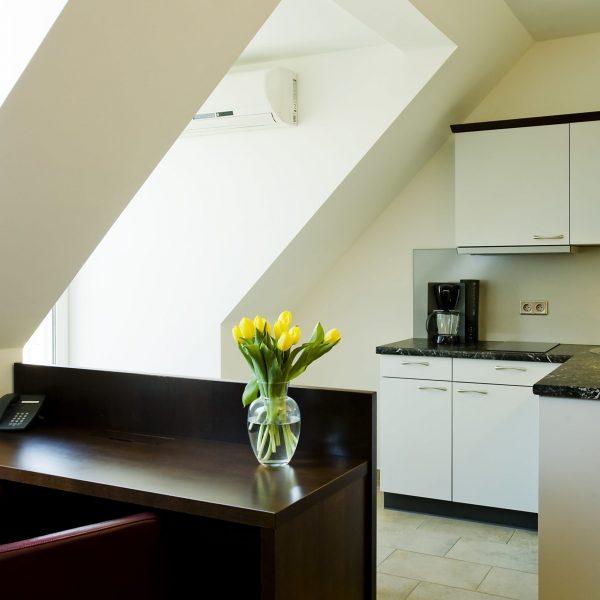 Das Reinisch Hotel Business Apartments Küche