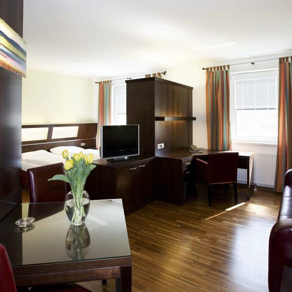 Das Reinisch Hotel Business Apartments Wohnbereich